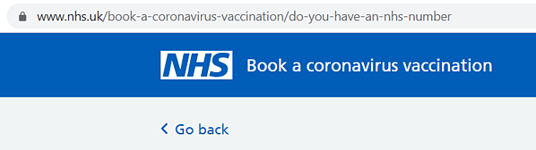 NHS url covid vaccine