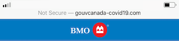 Insecure site address bar